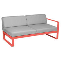 Bellevie 2 Seater Right Module - Capucine/Flannel Grey