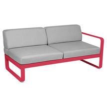 Bellevie 2 Seater Right Module - Pink Praline/Flannel Grey