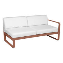 Bellevie 2 Seater Right Module - Red Ochre/Off White