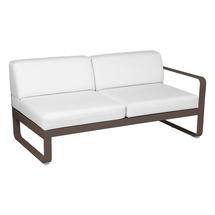 Bellevie 2 Seater Right Module - Russet/Off White