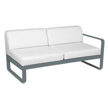 Bellevie 2 Seater Right Module - Storm Grey/Off White