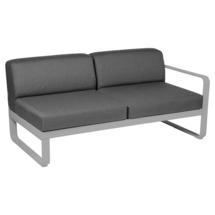 Bellevie 2 Seater Right Module - Steel Grey/Graphite Grey