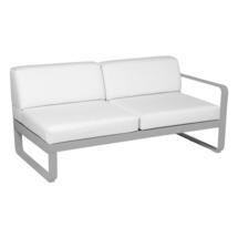 Bellevie 2 Seater Right Module - Steel Grey/Off White