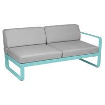 Bellevie 2 Seater Right Module - Lagoon Blue/Flannel Grey