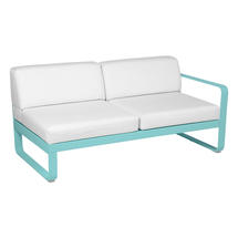 Bellevie 2 Seater Right Module - Lagoon Blue/Off White