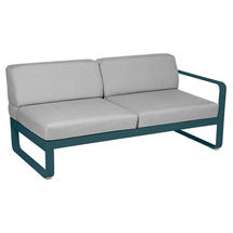 Bellevie 2 Seater Right Module - Acapulco Blue/Flannel Grey