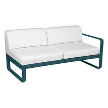 Bellevie 2 Seater Right Module - Acapulco Blue/Off White