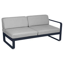 Bellevie 2 Seater Right Module - Deep Blue/Flannel Grey