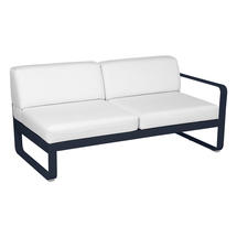 Bellevie 2 Seater Right Module - Deep Blue/Off White