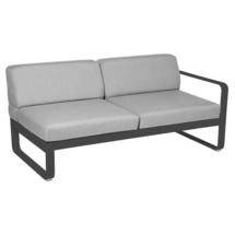 Bellevie 2 Seater Right Module - Anthracite/Flannel Grey