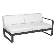 Bellevie 2 Seater Right Module - Anthracite/Off White