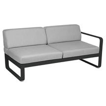Bellevie 2 Seater Right Module - Liquorice/Flannel Grey