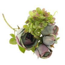 Rose Hydrangea Mixed Spray - Blue