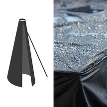 Cover 18 - Hyde Luxe Parasol 3x4m - Black