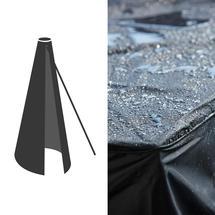 Cover 9 - Hyde Luxe Tilt Parasol 3x3m - Black