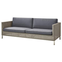 Connect 3 Seat Sofa - Grey Cushions