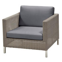 Connect Lounge Chair - Grey Cushions