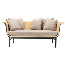 Wicked 2 Seat Garden Sofa - Natural