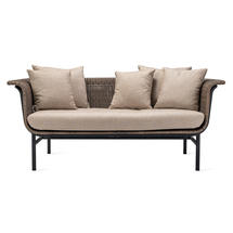 Wicked 2 Seat Garden Sofa - Taupe
