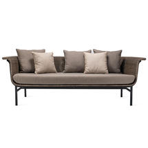 Wicked 3 Seat Garden Sofa - Taupe