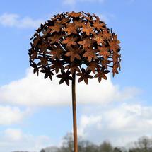 Rusted Allium Flower