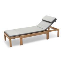 Riviera Lounger Cushion - Ash