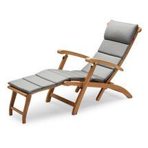 Steamer Deck Chair Cushion - Ash