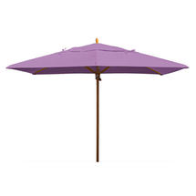 Classic Wood Framed Rectangle Parasols - Lilac