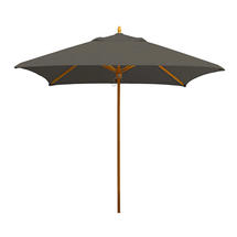 Classic Wood Framed 2.2m Square Parasols - Taupe