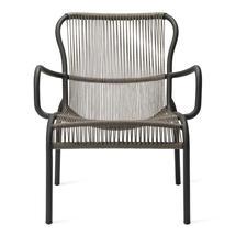 Loop Rope Lounge Chair - Fossil Grey