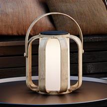 Bob To-Go Solar Lantern - Bamboo