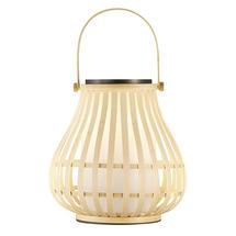 Leo To-Go Solar Lantern Bamboo