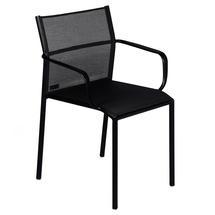 Cadiz Dining Chair with Arms - Liquorice