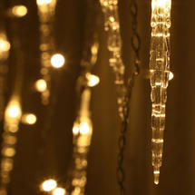 Cascading Icicle String Lights - 360 LEDS
