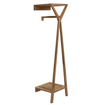 Totem Wall Mounted Clothes Rail with Shelf