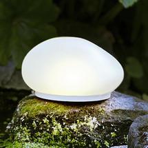 Solar Glass Stone Light - Small