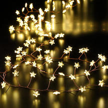 Star Cluster Bare Wire Micro LED Light Garland - 480 LED