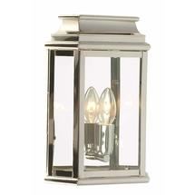 St Martins Flush Wall Lantern - Polished Nickel
