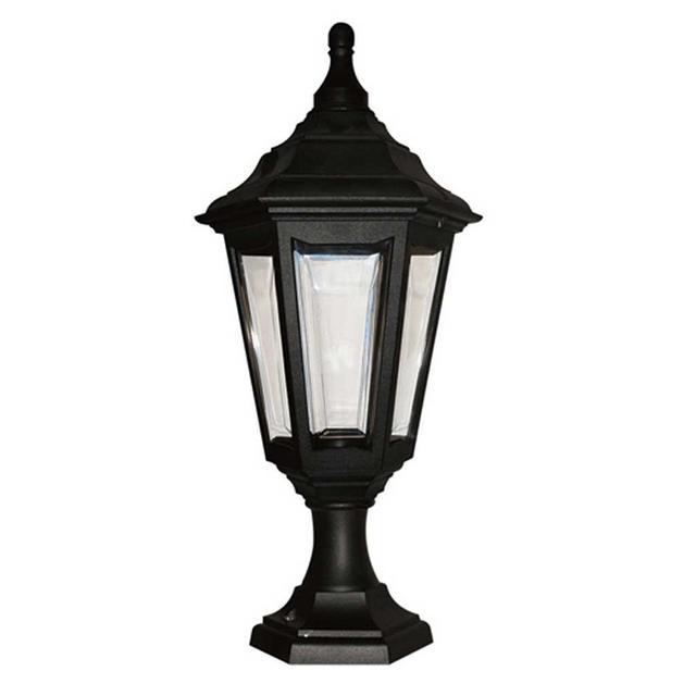 Welhome Bollard Light Garden Pedestal Led Solar Lamps: Buy Kinsale Outdoor Pedestal Lantern By Elstead Lighting