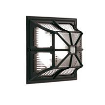Chapel Flush Lantern Black