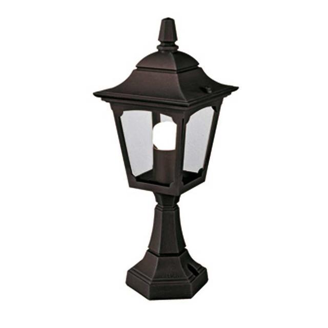 Buy Hornbaek Outdoor Pedestal Lantern By Elstead Lighting: Buy Chapel Mini Outdoor Pedestal Lantern By Elstead