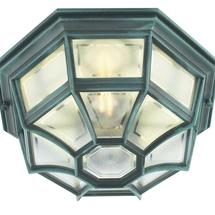 Latina Porch light - Verdigris