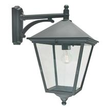 Turin Grande Down Wall Lantern Black