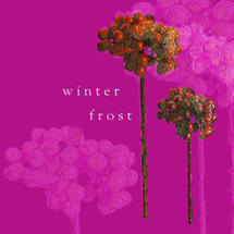 Xmas Card 5pk-Mulberry Frost