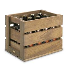 Dania Teak Storage Beer Crate