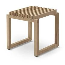 Cutter Oak Stool