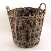 Rattan Wicker Log Basket