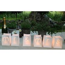 Mr & Mrs - Candle Bags Small