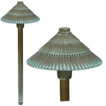 GZ/Bronze17 Round Pagoda Light - Verdigris