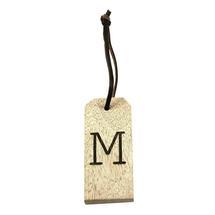 Mango Wood Key Tag - M